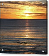 Shell Beach Sunset Acrylic Print