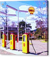 Shell Station Acrylic Print
