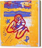 Shellie - Summer Experiment Acrylic Print by Adam Kissel