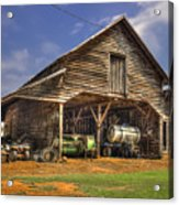 Shelter From The Storm Wrayswood Barn Acrylic Print