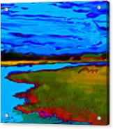Shem Creek Acrylic Print
