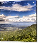 Shenandoah National Park - Sky And Clouds Acrylic Print