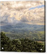 Shenandoah Valley - Storm Rolling In Acrylic Print