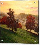 Shenandoah Valley Sunrise Acrylic Print