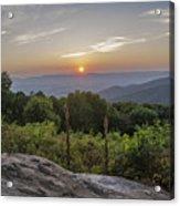 Shenandoah Valley Sunset  Acrylic Print