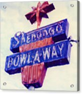 Shenango Bowl-a-way Acrylic Print