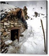Shepherd Hut Acrylic Print