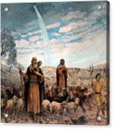 Shepherds Field Painting Acrylic Print