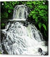 Shepperd's Dell In Rain Acrylic Print