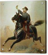 Sheridan's Ride Acrylic Print by Thomas Buchanan Read