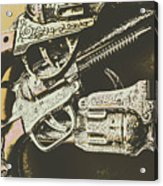 Sheriff Guns Acrylic Print