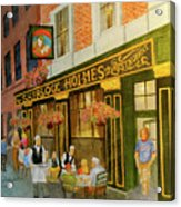 Sherlock Holmes Restaurant Acrylic Print