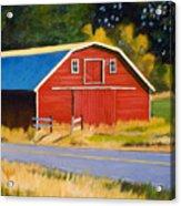 Sherman Barn Acrylic Print