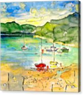 Shieldaig In Scotland 03 Acrylic Print