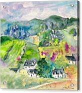 Shieldaig In Scotland 06 Acrylic Print