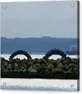 Shilshole Sea Serpent Acrylic Print