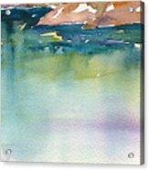 Shimmer Lake Acrylic Print