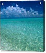 Shimmering Ocean Acrylic Print