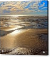 Shimmering Sands Acrylic Print