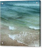 Shimmering Tide Acrylic Print
