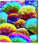 Shiney Bubbles Acrylic Print