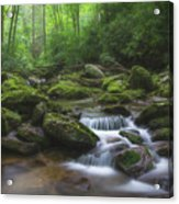 Shining Creek Acrylic Print