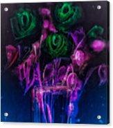 Shining Flowers  Acrylic Print