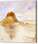 Shining Sands Acrylic Print