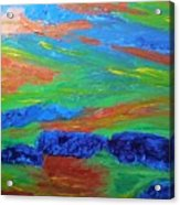 Shinning Sea Acrylic Print