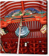 Shinto Shrine Acrylic Print