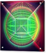 Shiny Globe Acrylic Print