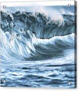 Shiny Wave Acrylic Print