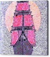 Ship In Sun Acrylic Print