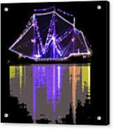 Ship In The Harbor Acrylic Print