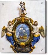 Ship Memorial Acrylic Print