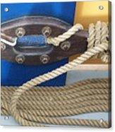 Ship Rope Acrylic Print