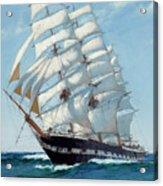 Ship Waimate - Detail Acrylic Print