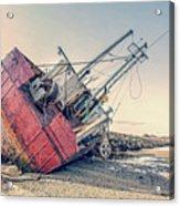 Shipwreck Provincetown Breakwater Acrylic Print