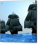 Ships In Sail Acrylic Print