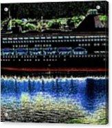 Shipshape 8 Acrylic Print by Will Borden