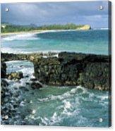 Shipwreck Beach Acrylic Print