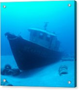 Shipwreck Acrylic Print