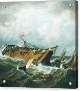 Shipwreck Off Nantucket Acrylic Print