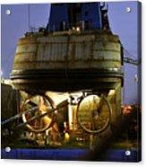 Shipyard Work Acrylic Print