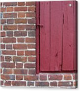 Shirley Mansion Outbuilding Wall Acrylic Print