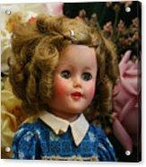 Shirley Temple Doll Acrylic Print