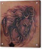 Shiva Mahadev Acrylic Print