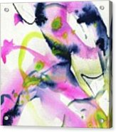 Shock Of Pink 1 Acrylic Print