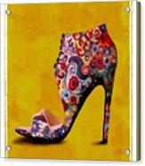 Shoe Illustration 1 Acrylic Print
