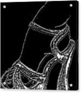Shoe In Acrylic Print